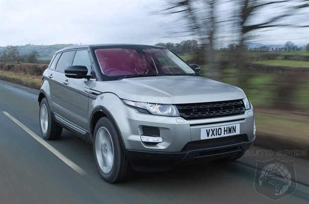 SPIED: Range Rover Evoque Spotted On The STREETS While Filming