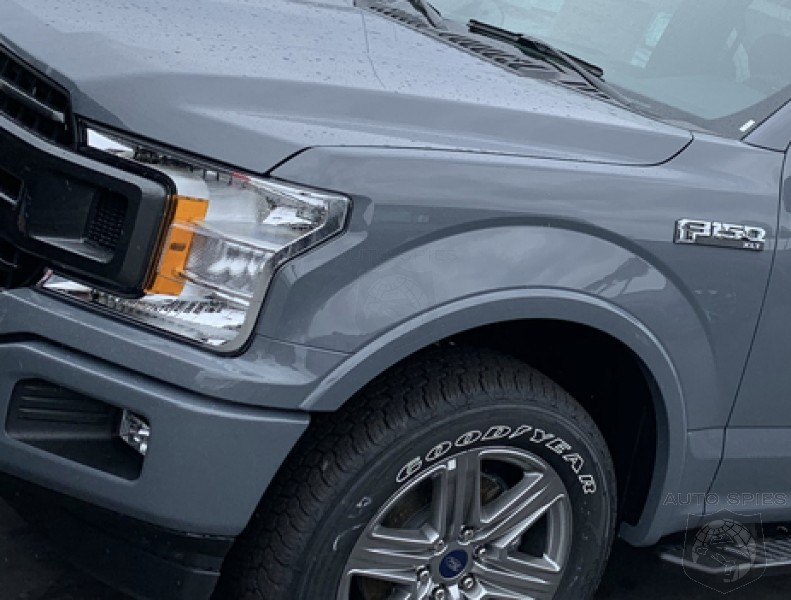 SPIED! First Real-Life Shots Of The 2019 Ford F-150 In ABYSS Gray