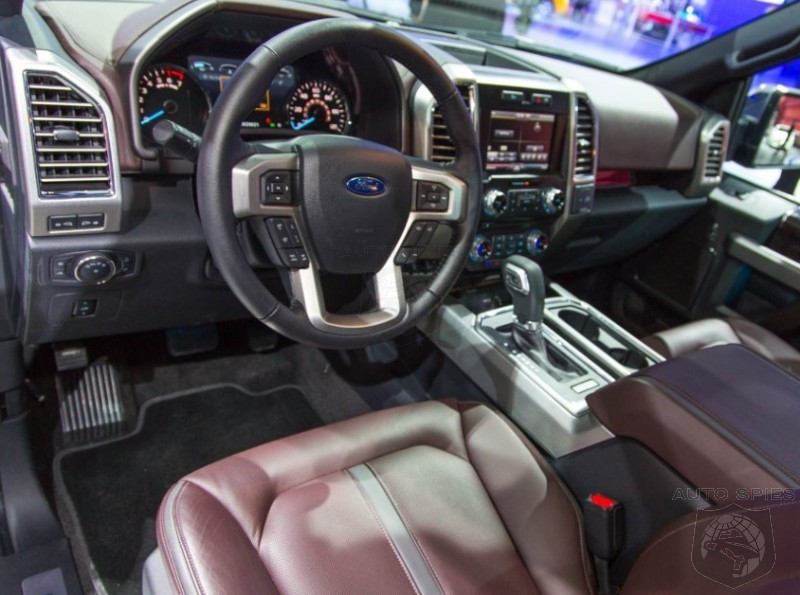 DETROIT AUTO SHOW: 001 Gets Shots Of The All New, 2015 Ford F