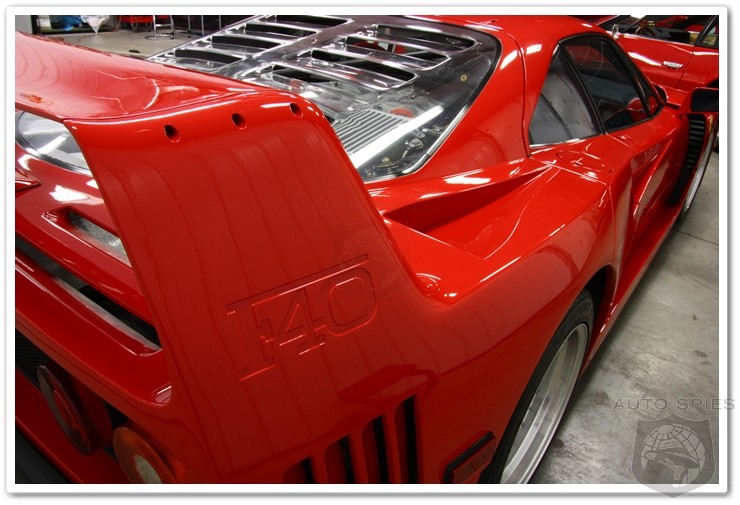 After 60 Hours, A Ferrari F40 Is Brought Back To Like New Shape