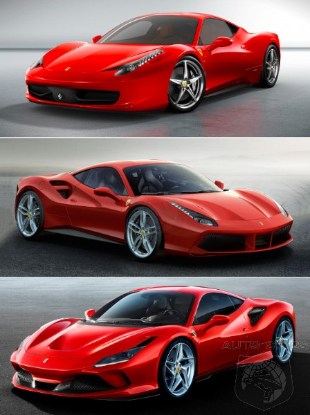 WHICH and WHY Based On LOOKS Alone Which Ferrari Would YOU Put In Your Garage