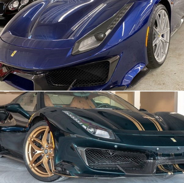 WHO Did It BETTER? Green Or Blue, Which Ferrari 488 Pista Speaks To YOU?