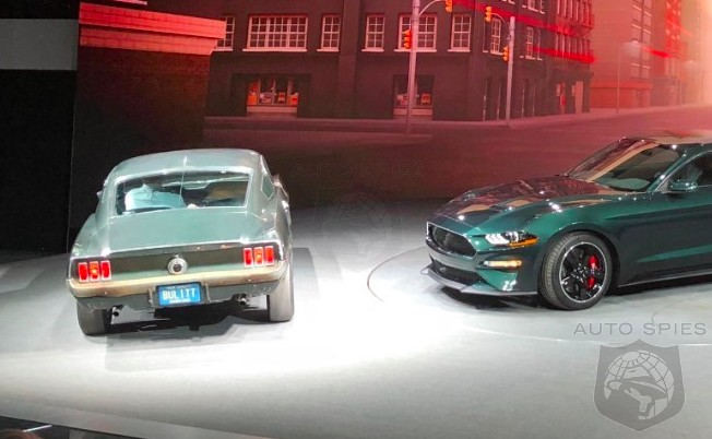 #NAIAS: Get A Look At Automotive History In The Flesh With The Bullitt, NEW and OLD, Together In Detroit