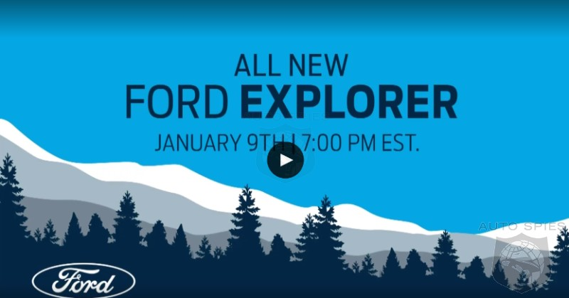 BREAKING! Watch The REVEAL Of The 2020 Ford Explorer RIGHT HERE, RIGHT NOW! - AutoSpies Auto News