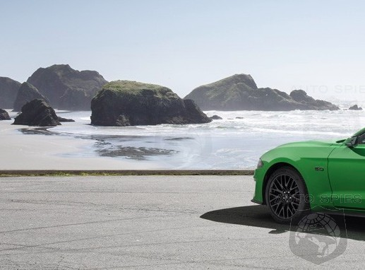 Ford Gets In The Spirit For St. Patrick's Day And Shows Us Its NEED For GREEN Mustang