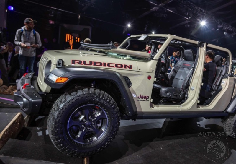 More Pictures Of The All New Jeep Gladiator Give Us