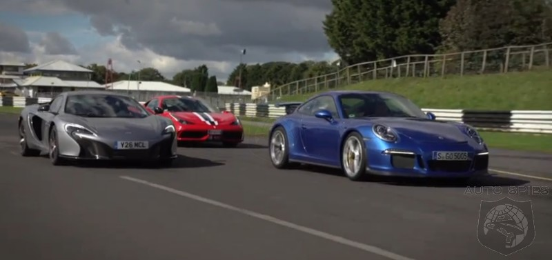CAR WARS A Day At The Track With The Ferrari 458 Speciale McLaren 650S And Porsche 911 GT3