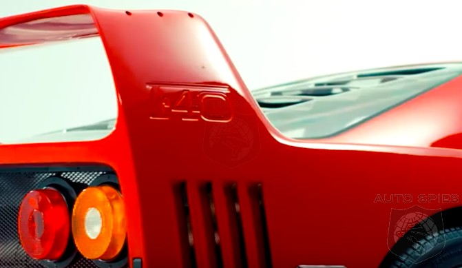 VIDEO: Driving The Dream Car, The Ferrari F40