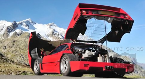DRIVEN + VIDEO: Have YOU Ever Driven Through The Alps? How About In A Ferrari F40?