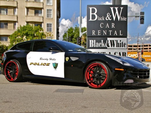 A Ferrari FF Joins The Police Ranks? ONLY In Beverly Hills...