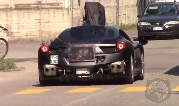 SPIED + VIDEO: Is This ONE Of The First Few Clips Of A Potential EV Ferrari? Perhaps A Hybrid Ferrari Is In The Works?