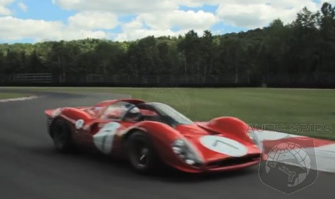 VIDEO: Ferrari's Iconic Sports Car Prototype Wails Its V12 Symphony