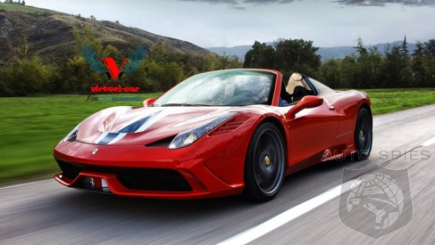 RUMOR: Will They Or Won't They? No One Can Confidently Say IF Ferrari Is Working On A 458 Speciale Spyder