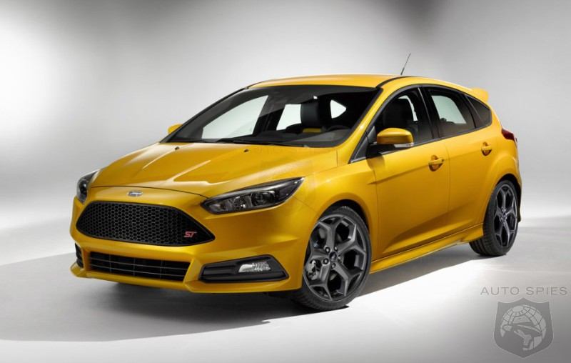 OFFICIAL: This Is The Newly Refreshed 2015 Ford Focus ST