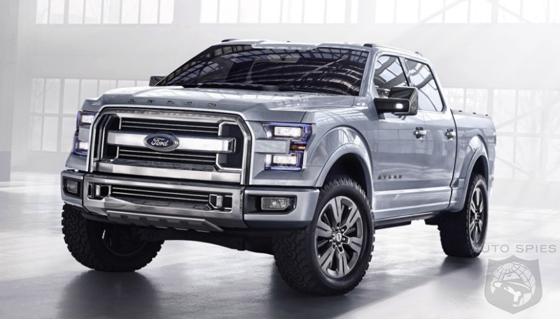 detroit auto show rumor is the all new ford f series in. Black Bedroom Furniture Sets. Home Design Ideas