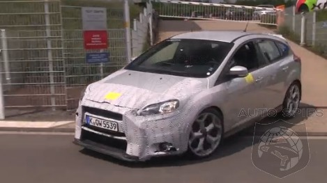 SPIED + VIDEO: SEEN and HEARD! The HOT Hatch Game Continues To HEAT Up, The Ford Focus RS Enters The Mix
