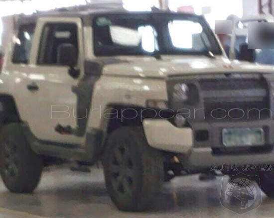 SPIED: Are THESE FIRST Shots Of This RUGGED Ford The FIRST Indications Of An Attack On The Jeep Wrangler?