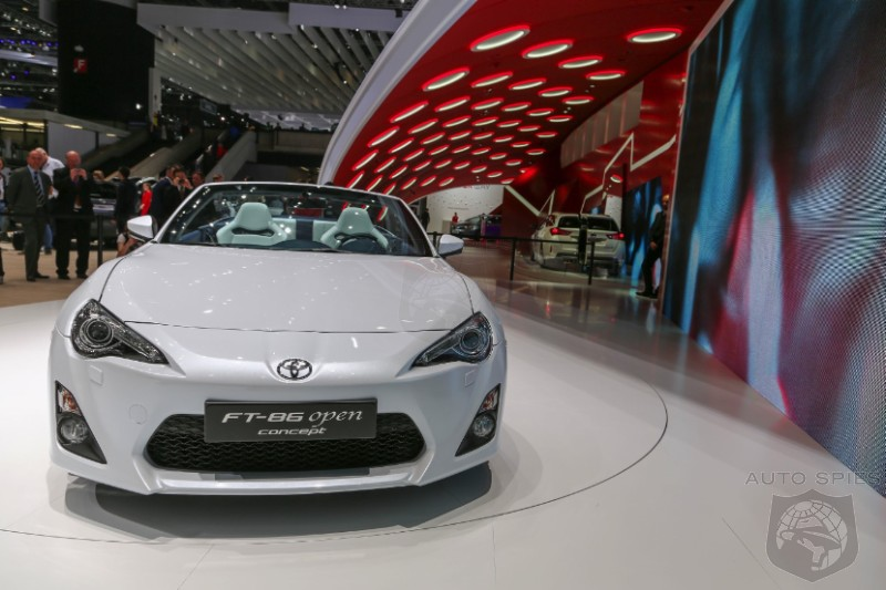 GENEVA MOTOR SHOW: Toyota Almost Guarantees A Scion FR-S Convertible