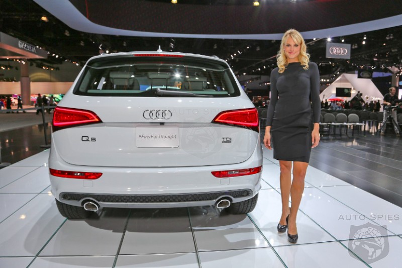 LA AUTO SHOW: Audi Debuts FOUR NEW Diesel Models - Are These Fuel Sippers What You've Been Waiting For?