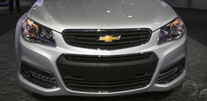 NEW YORK AUTO SHOW: Chevrolet Digs Deep And Finally Brings Back The G8 In SS Form BUT Is It TOO LATE?