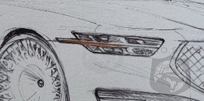 SKETCHED OUT + TEASED! The Refreshed Genesis G90 Slips Out And We're NOT Sure What To Think...