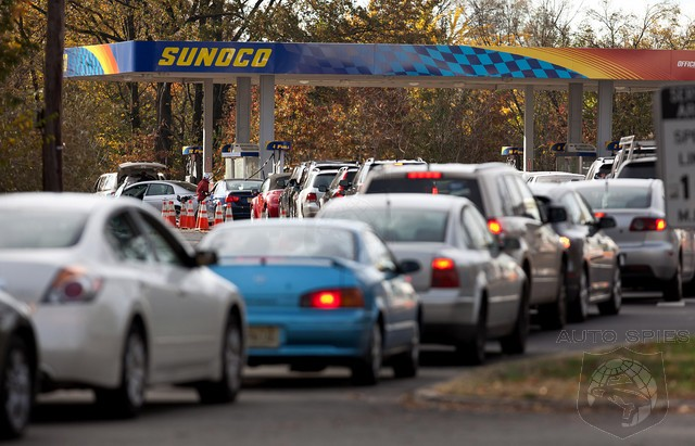 Hurricane Sandy Has New Jersey Grasping For Gas - Restrictions Start TOMORROW