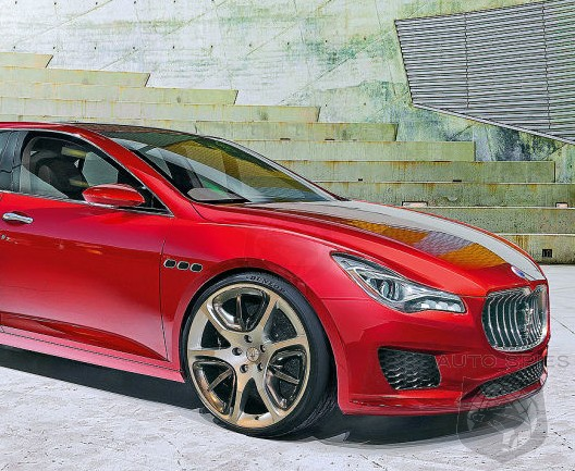 RENDERED SPECULATION: If Maserati's Ghibli Looks Like THIS Way, Will YOU Give It A Thumbs UP or DOWN?