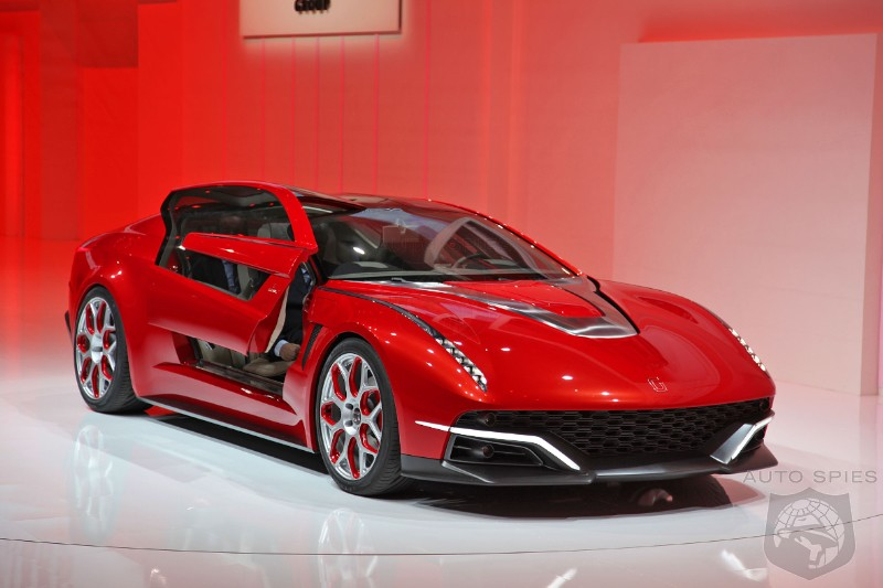 GENEVA MOTOR SHOW: Giugiaro's Concept Car Looks To The Past Before Moving Ahead Into The Future