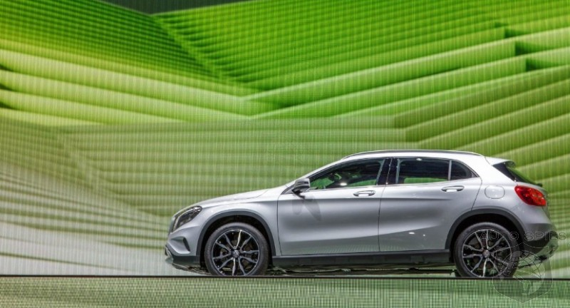 FRANKFURT MOTOR SHOW: So, How Does The Mercedes-Benz GLA Look In REAL LIFE? Better Than The X1 And Q3?