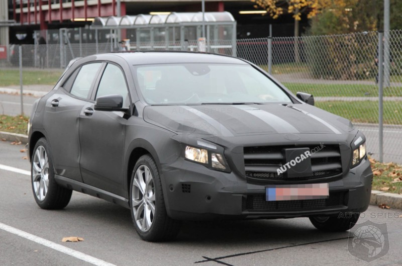 SPIED: The BEST Shots Yet Of Mercedes-Benz's Upcoming GLA