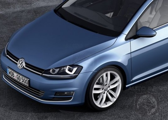 GENEVA MOTOR SHOW: LEAKED(!) Images Of Volkswagen's All-New Golf Wagon