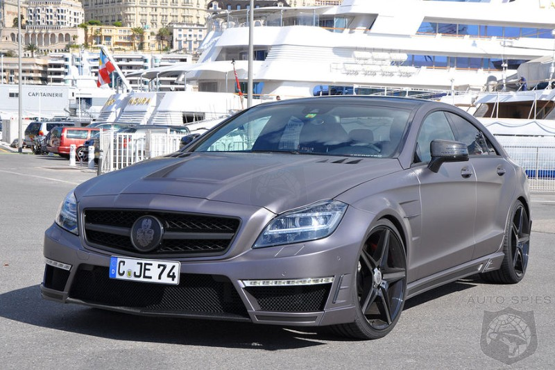 AWESOME or AWFUL: German Special Customs Tunes Up The Mercedes-Benz CLS63 AMG - For BETTER Or For WORSE?