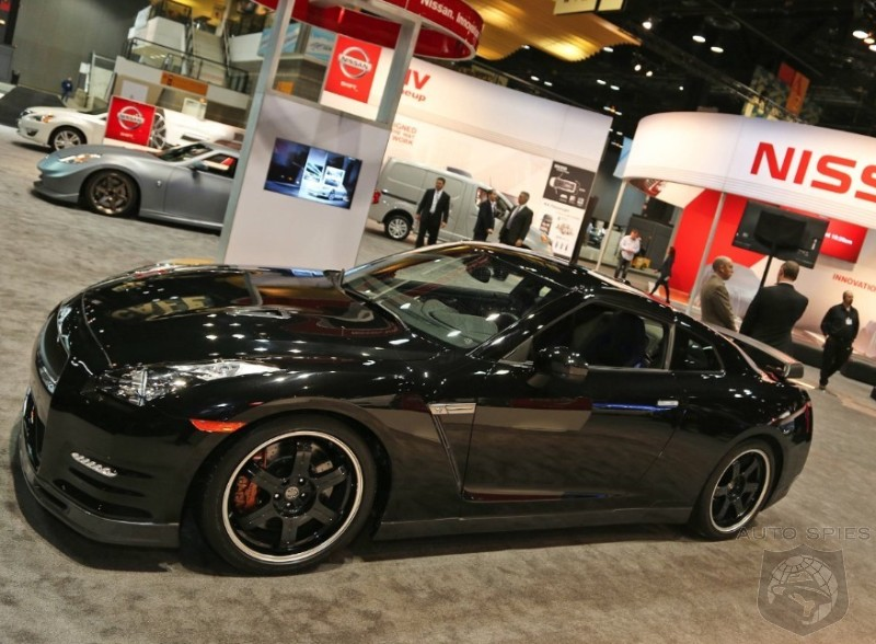 CHICAGO AUTO SHOW: Is The 2014 Nissan GT-R EXACTLY The Opposite Of What It Was In 2008? Affordable?
