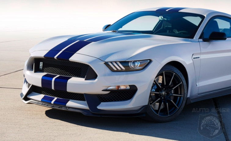 Ford Mustang White With Blue Stripes Car Autos Gallery
