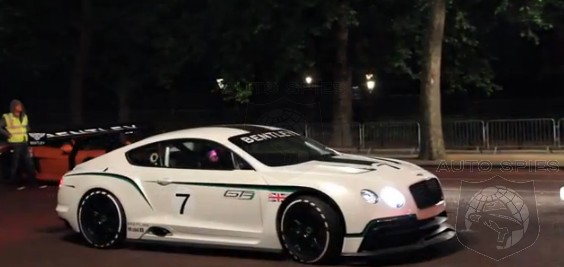 VIDEO: FIRST REAL-LIFE Clip Of The Bentley Continental GT3 Racer HEARD