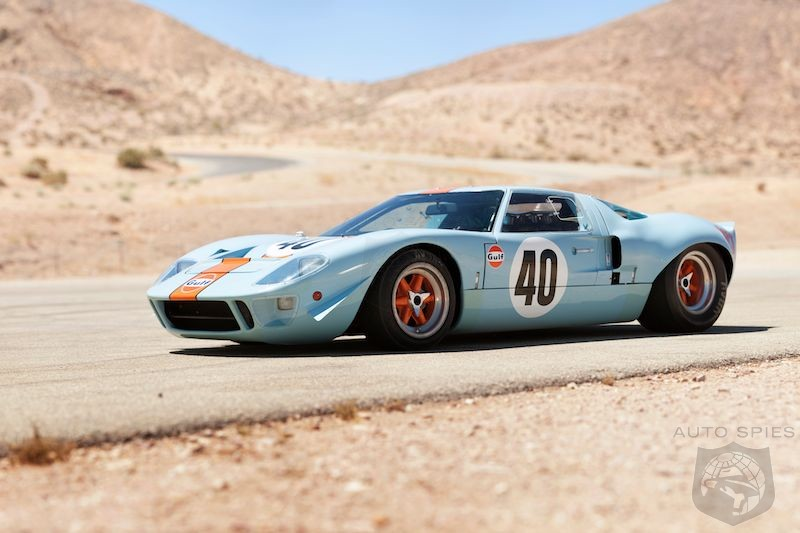 MONTEREY: A VERY Special Ford GT40 Sets A Record For The MOST $ Paid For An American Car At Auction