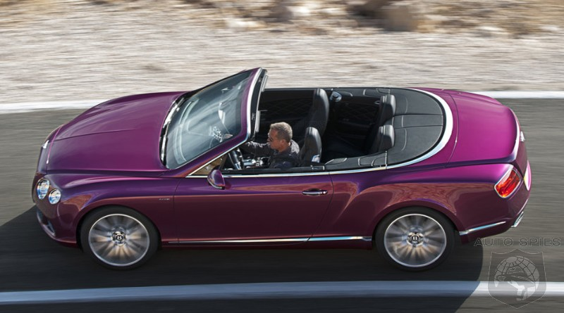 Bentley Shows Off The 2013 Continental GT Speed Drop-Top, Fastest Four-Seat Convertible In The WORLD