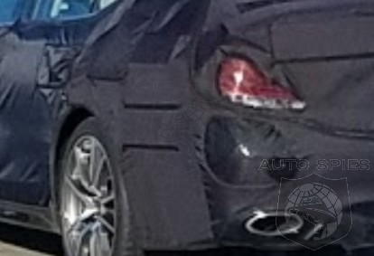 SPIED: What Is THIS? Mystery Car Snapped On SoCal's 22 East — Acura? Infiniti? Genesis? Lexus? Something Else?