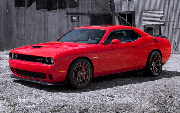The 2015 Dodge Challenger SRT Hellcat Just Shook Up The ENTIRE Muscle Car Game, It Has A LOT Of Horsepower