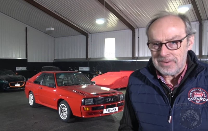 DRIVEN + VIDEO: Harry Metcalfe WRINGS Out The Audi Sport Quattro And CAN'T Wipe The Grin Off His Face