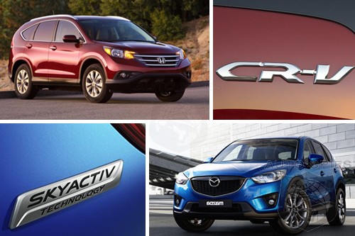 CAR WARS! Honda's Family Friendly CR-V Takes On The New Kid On The Block, The Mazda CX-5