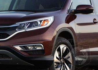 LEAKED FIRST Photo Of The Newly Revamped Honda CR V Shows ALL