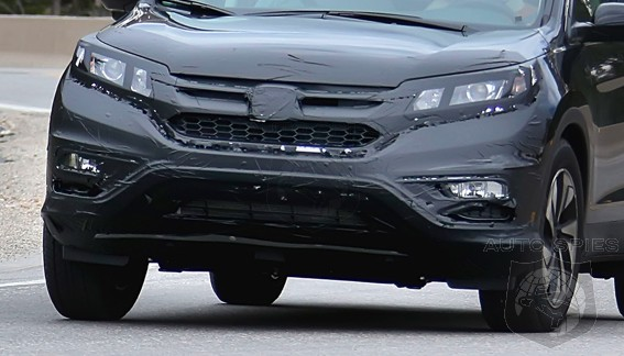 SPIED: FIRST Shots Of The Newly Revamped Honda CR-V — Due In Showrooms Next Year