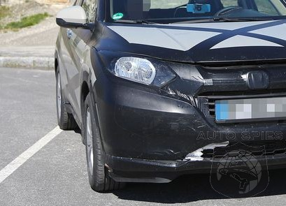 SPIED: MORE Spy Photos Of The All-New Honda HR-V, Are YOU Digging Where THIS Is Going?
