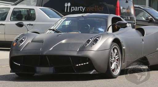 SPIED: What Do YOU Think A Pagani Huayra Is Doing At AMG's Headquarters?