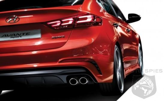 The All New Hyundai Elantra SPORT Takes A Bow In Korea Takes Dead Aim On Civic Si And Jetta GLI