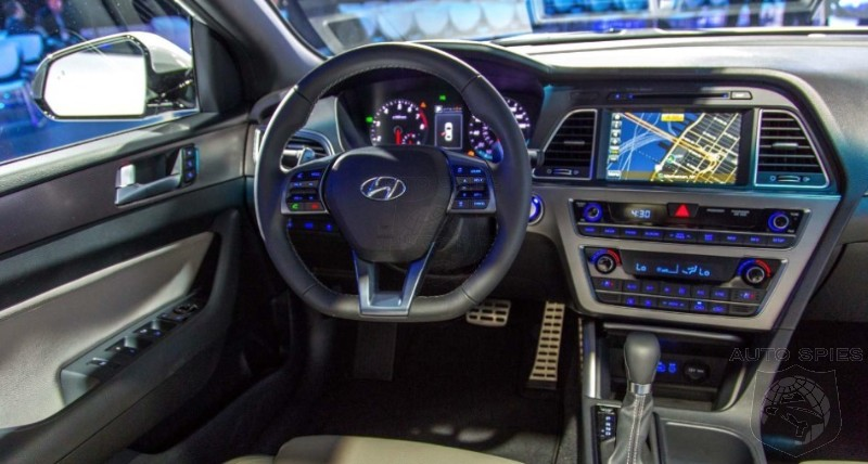 NEW YORK AUTO SHOW: I SPY The 2015 Hyundai Sonatau0027s INTERIOR U2014 Can YOU Find  The TWO Cool Things Inside?