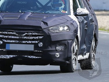 SPIED: FIRST Images Of The All-New Hyundai Tucson HEAT Up The 'Net — What Does It Need To Take On The CR-V, Escape And RAV4?