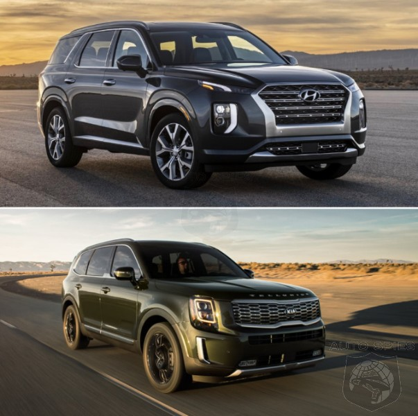 Based On LOOKS Alone, WHO Did It Better? Hyundai Palisade vs. Kia Telluride
