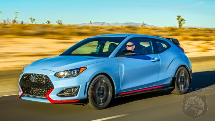 PLACE YOUR BETS! Will The All-new Hyundai Veloster N WHOMP The Reigning Hot Hatch Champ, The VW Golf GTI?